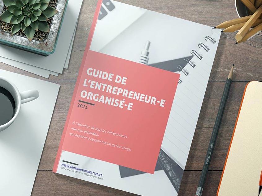 Guide de l'entrepreneur-e organisé-e - Gratuit - à télécharger ici