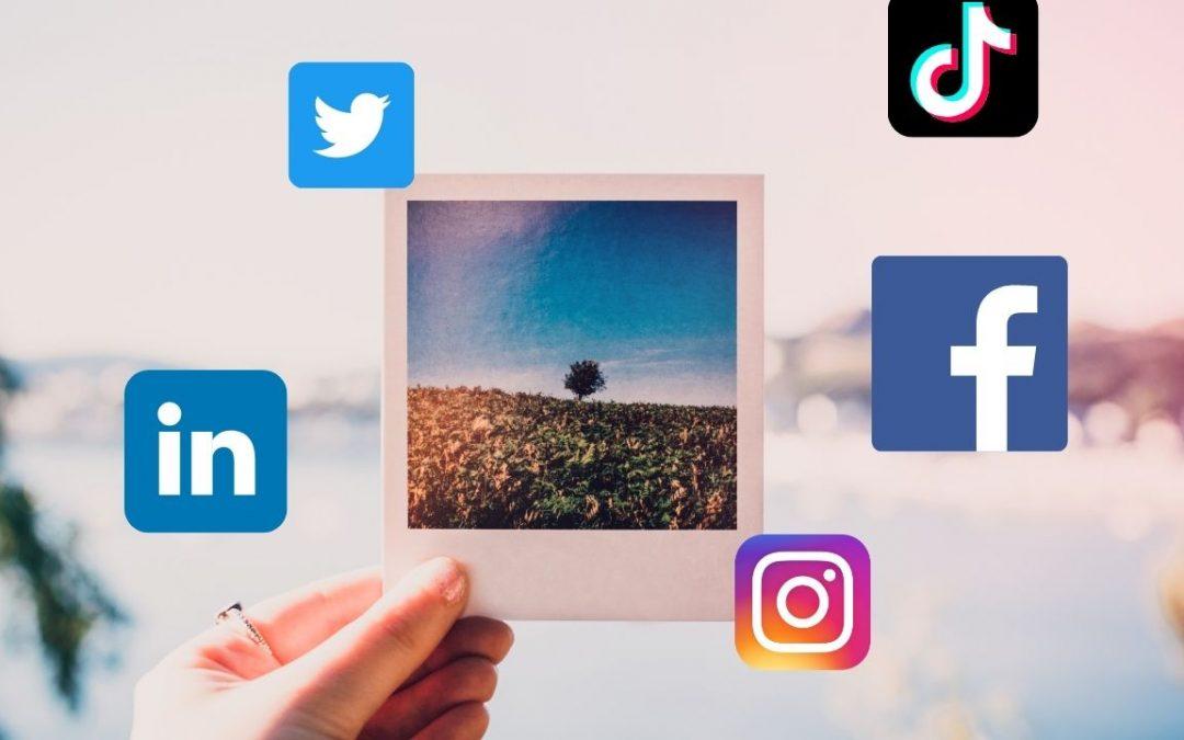 Comment trouver les bonnes images pour ces réseaux sociaux