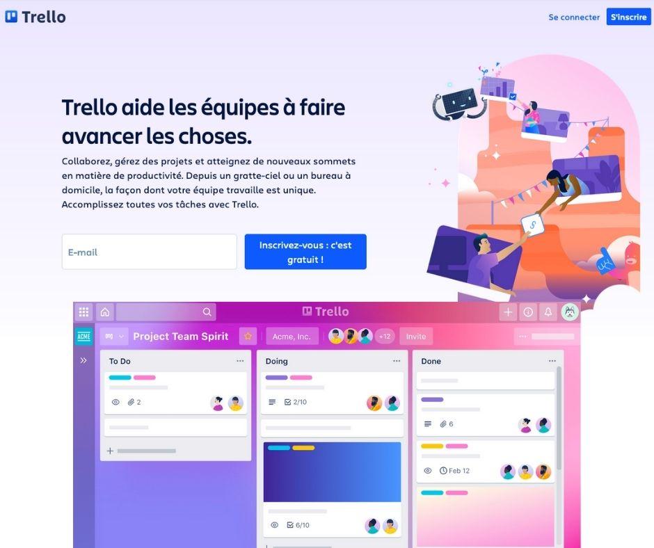 Anne Burtin ressources numérique - Trello