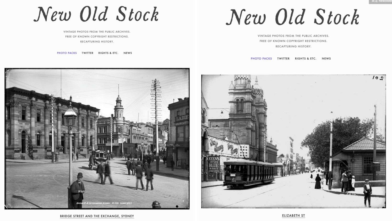 Ou trouver des images libres de droits sur internet - images vintage