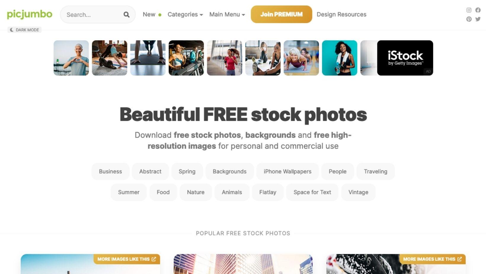 Ou trouver des images libres de droits sur internet - picjumbo