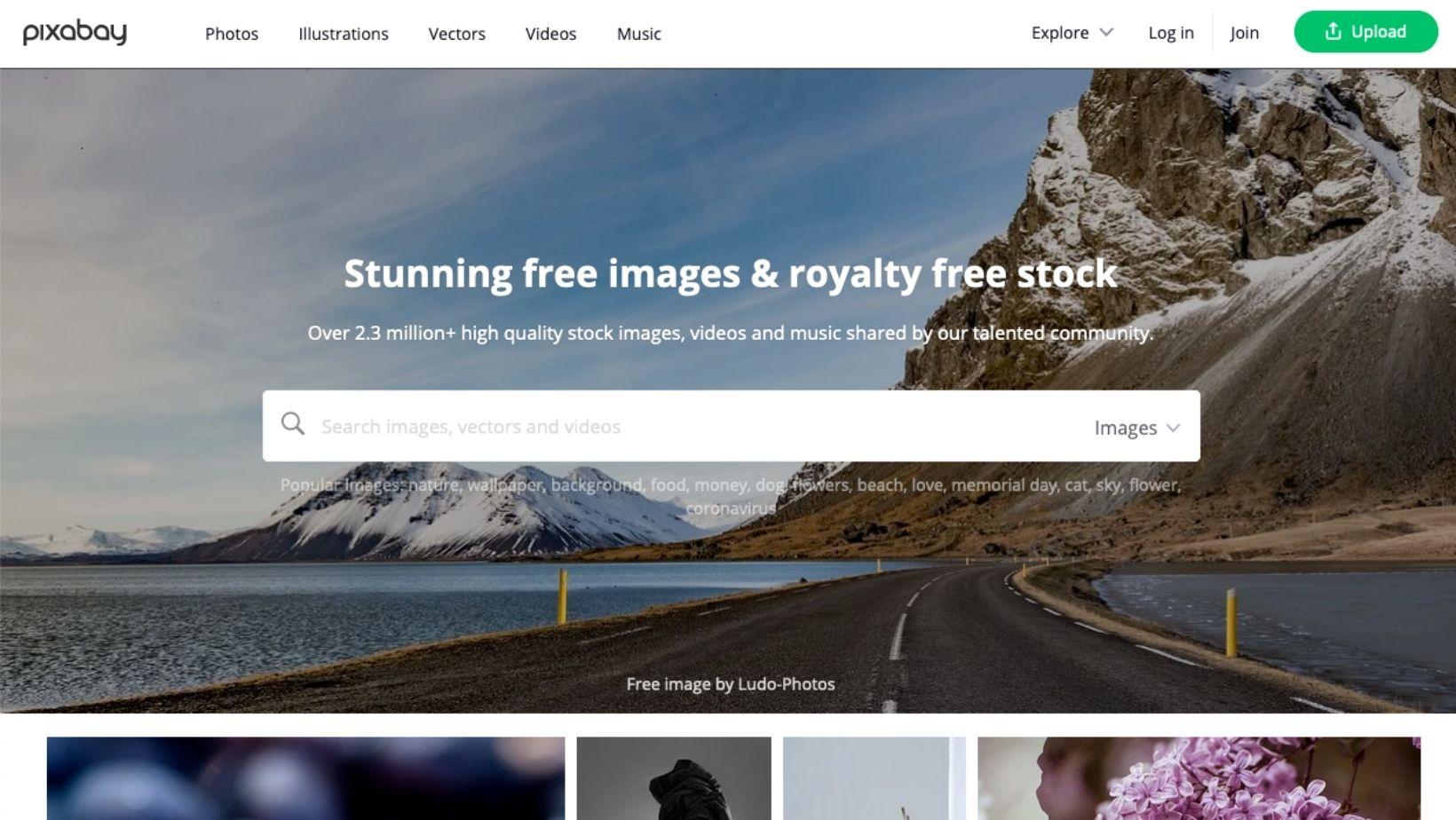 Ou trouver des images libres de droits sur internet - pixabay