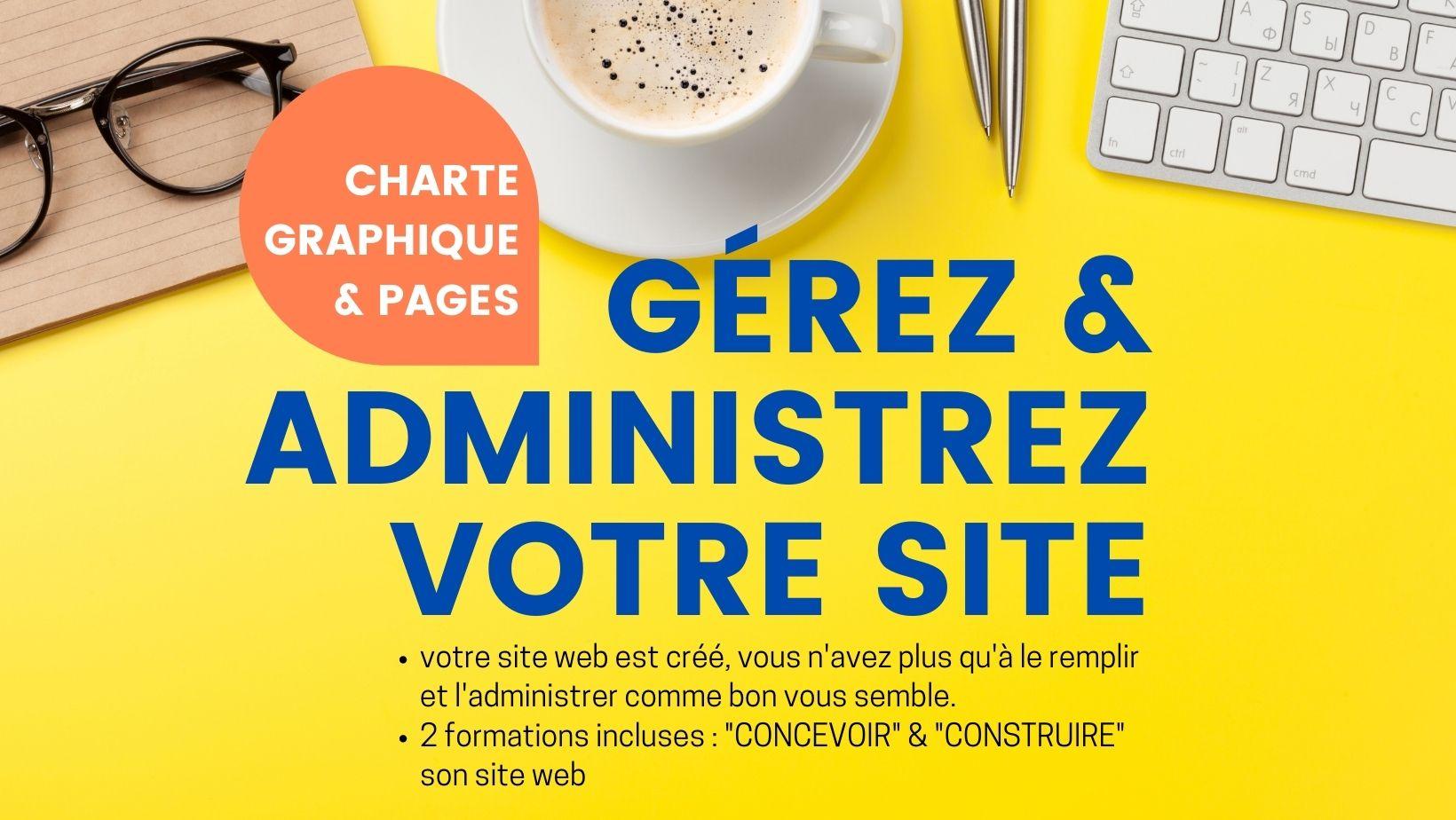 Gerez et administrez votre site web