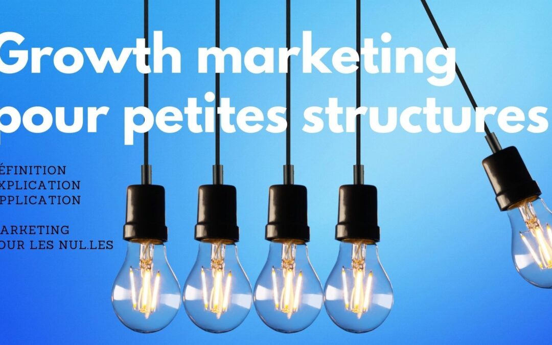 À quoi sert le Growth marketing et comment l'appliquer à de petites entreprises (ou pour des indépendants)?